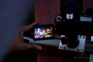 Gravação de videoclipe da equipe de P.drão - Foto Fernanda Lopes