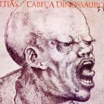 1986 Cabeça Dinossauro