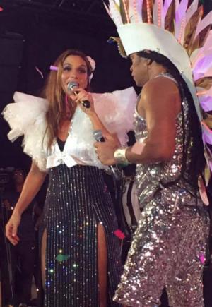 Ivete Sangalo e Carlinhos Brown - Foto Facebook