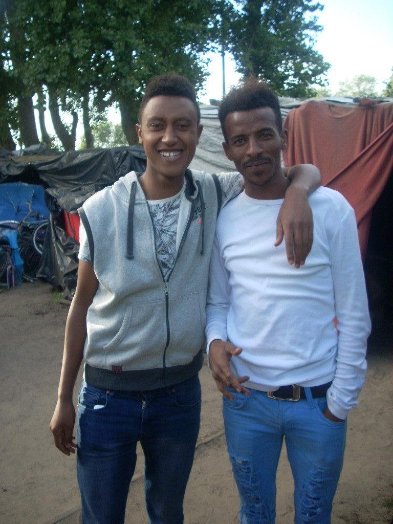 Jovens africanos da Eritreia