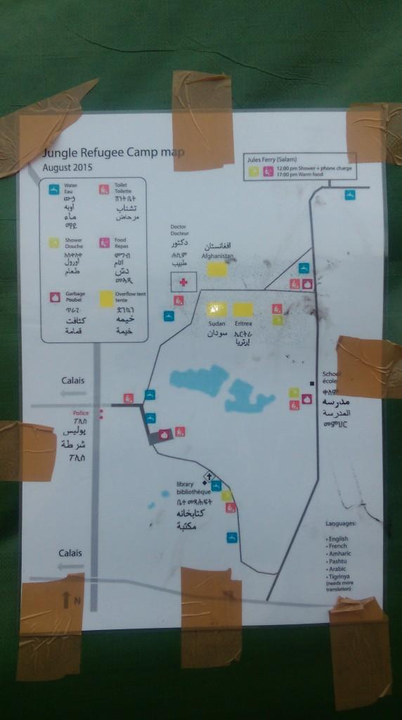 O incrível mapa da New Jungle deve ser fácil de decifrar para quem fez percursos como o do sírio Moayad