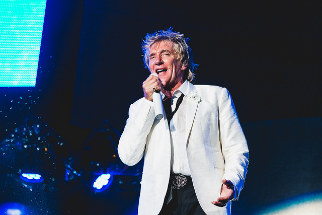 De Rod Stewart ouviu-se o que se esperava ouvir - Foto David Argentino - I Hate Flash