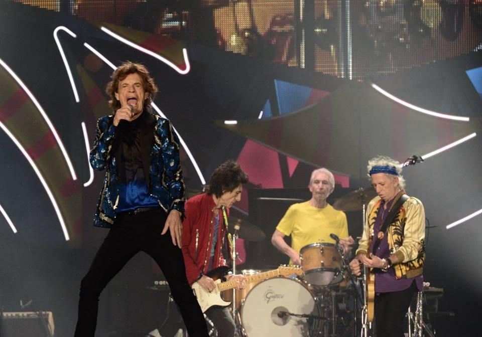 Apresentação dos Rolling Stones dia 24 de fevereiro de 2016 no estádio do Morumbi - Foto: Camila Cara - Facebook oficial do show