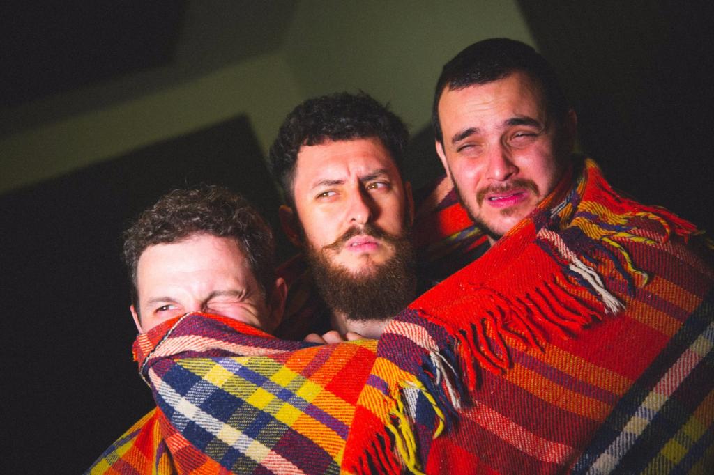 O trio punk argentino Los Culos