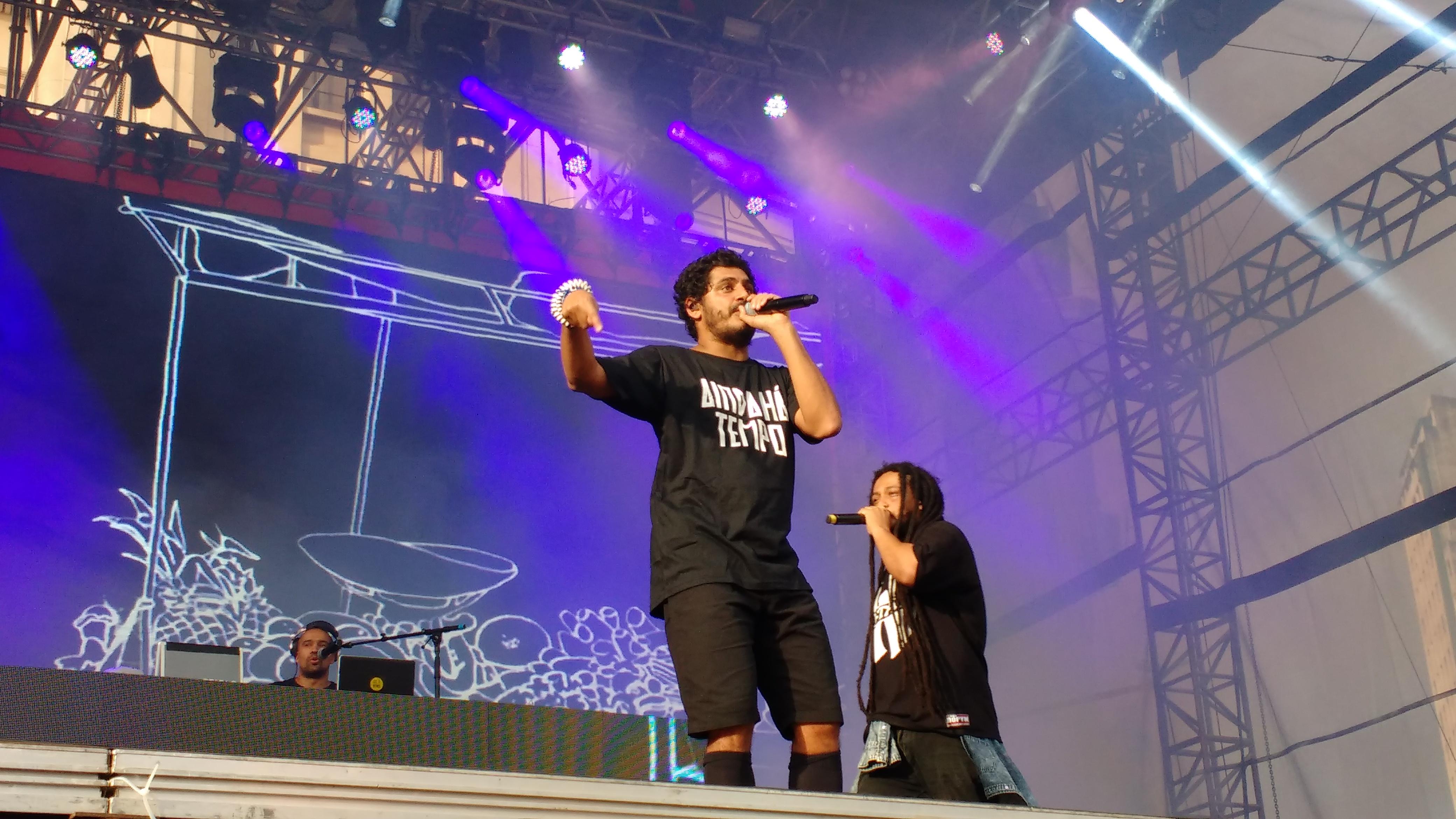 Criolo e MC Dan Dan