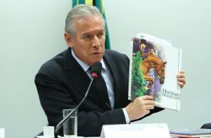 Empresário Antônio Carlos Bellini Amorim, em depoimento na Câmara dos Deputados - Foto: Billy Boss/Câmara dos Deputados