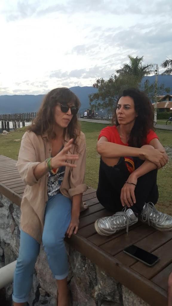 Anna Penteado e Tatiana Sobral