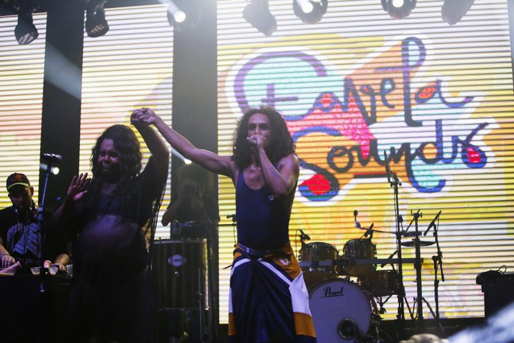 Tal como Xarope MC e Baco Exu do Blues, Juba do Bairro e Linn da Quebrada formam dupla de MCs altamente politizada - foto Rômulo Juracy/Favela Sounds