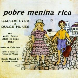 A capa do LP Pobre Menina Rica, de 1964