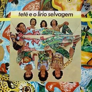 """Alzira era a caçula do psicodélico """"Tetê e o Lírio Selvagem"""" (1978), com os irmãos Tetê, Geraldo e Celito Espíndola"""